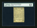 Colonial Notes:Rhode Island, Rhode Island May 1786 1s PMG Fine 12....