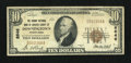 National Bank Notes:Pennsylvania, Downingtown, PA - $10 1929 Ty. 1 The Grange NB of Chester County Ch. # 8646. ...