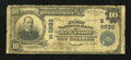 National Bank Notes:Tennessee, Newport, TN - $10 1902 Plain Back Fr. 627 The First NB Ch. #(S)9632. ...