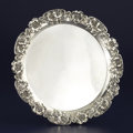 Silver Holloware, American:Trays, AN AMERICAN SILVER TRAY. Unger Bros., Newark, New Jersey, circa1900. Marks: (interlaced UB), STERLING, 925 FINE,0257...