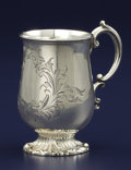 Silver Holloware, British:Holloware, A VICTORIAN SILVER CUP. Edward and John Barnard, London, England,1854-1855. Marks: (lion passant), (leopard's head), (duty ...