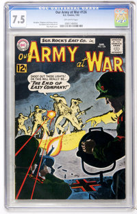 Our Army at War #126 (DC, 1963) CGC VF- 7.5 Off-white pages