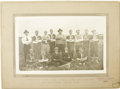Hockey Collectibles:Photos, 1922 Cupar Baseball Team Cabinet Photograph with Eddie Shore.Terrifically scarce cabinet photograph finds a nineteen-year ...