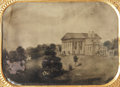 Photography:Tintypes, Quarter Plate Tintype of Arlington House Painting....