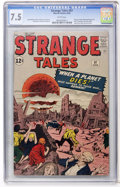 Silver Age (1956-1969):Horror, Strange Tales #97 (Marvel, 1962) CGC VF- 7.5 White pages....