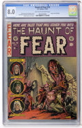 Golden Age (1938-1955):Horror, Haunt of Fear #14 (EC, 1952) CGC VF 8.0 Light tan to off-whitepages....