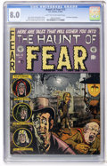 Golden Age (1938-1955):Horror, Haunt of Fear #12 (EC, 1952) CGC VF 8.0 Light tan to off-whitepages....