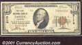 National Bank Notes:Colorado, First National Bank of Greeley, CO, Charter #3178. 1929 $10 Typ...