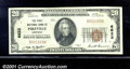 National Bank Notes:Kentucky, First National Bank of Pikeville, KY, Charter #6622. 1929 $20 T...