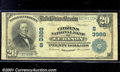 National Bank Notes:Kentucky, Citizens National Bank of Lebanon, KY, Charter #3988. 1902 $20 ...