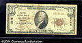 National Bank Notes:Kentucky, First National Bank of Mayfield, KY, Charter #2245. 1929 $10 Ty...