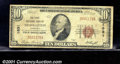 National Bank Notes:Kentucky, First National Bank of Nicholasville, KY, Charter #1831. 1929 $...