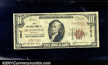 National Bank Notes:Kentucky, National Bank of Hustonville, KY, Charter #2917. 1929 $10 Type ...