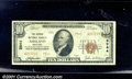 National Bank Notes:Kentucky, Second National Bank of Ashland, KY, Charter #3944. 1929 $10 Ty...