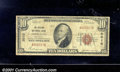 National Bank Notes:Kentucky, Ashland National Bank, KY, Charter #2010. 1929 $10 Type One, Fr...