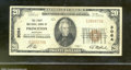 National Bank Notes:Kentucky, First National Bank of Princeton, KY, Charter #3064. 1929 $20 T...
