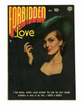 Golden Age (1938-1955):Romance, Forbidden Love #2 (Quality, 1950) Condition: FN/VF....