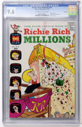 Bronze Age (1970-1979):Cartoon Character, Richie Rich Millions #42 File Copy (Harvey, 1970) CGC NM+ 9.6Off-white to white pages....