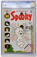 Bronze Age (1970-1979):Humor, Spooky #132 File Copy (Harvey, 1972) CGC NM/MT 9.8 Off-white towhite pages....