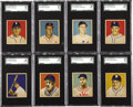 Baseball Cards:Sets, 1949 Bowman PCL Baseball Completely SGC Graded Near Set (31/36). Atough minor league near set that will provide a fun chal...