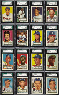 1952 Topps Baseball Complete Set (407). The undisputed king of the post-war era, this first great Topps baseball set joi...