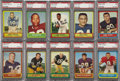 Football Cards:Sets, 1963 Topps Football Complete Set (170)....