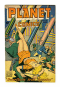 Golden Age (1938-1955):Science Fiction, Planet Comics #53 (Fiction House, 1948) Condition: VG/FN....