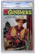 Silver Age (1956-1969):Western, Gunsmoke #9 File Copy (Dell, 1958) CGC NM 9.4 Off-white to whitepages....
