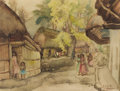 Texas:Early Texas Art - Regionalists, JOHN WILLIAM ORTH (American, 1889-1976). Tamazunchale,Mexico. Watercolor on paper. 18-1/2 x 25 inches (47.0 x 63.5cm)...