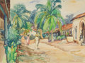 Texas:Early Texas Art - Regionalists, JOHN WILLIAM ORTH (American, 1889-1976). Acapulco, Mexico.Watercolor on paper. 17-1/2 x 23 inches (44.5 x 58.4 cm). Sig...