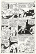 Original Comic Art:Panel Pages, Dick Ayers and Vince Colletta - Ghost Rider #2, page 3 Original Art(Marvel, 1967)....