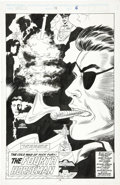 Original Comic Art:Splash Pages, Jerry DeCaire and Don Hudson - Nick Fury, Agent of S.H.I.E.L.D.#38, Splash Page 6 Original Art (Marvel, 1992)....