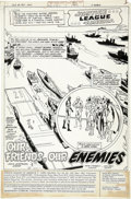 Original Comic Art:Splash Pages, Rich Buckler, Bob Smith, and Larry Mahltedt - Justice League ofAmerica #190, page 1 Original Art (DC, 1981)....