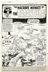 Dick Ayers and Vince Colletta - Ghost Rider #2, Splash Page 1 Original Art (Marvel, 1967)