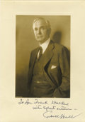 Autographs:Statesmen, Cordell Hull: Photograph Signed and Inscribed....