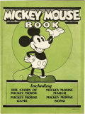 Platinum Age (1897-1937):Miscellaneous, Mickey Mouse Book Later Printing (Bibo & Lang, 1931) Condition:VF+....