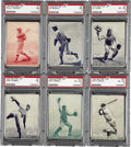 Baseball Cards:Lots, 1934-36 Batter-Up (R318) PSA-Graded Collection (11). Provided is anice collection of 11 1934-36 Batter-Ups, including 7 Hal...