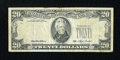Error Notes:Third Printing on Reverse, Fr. 2079-D $20 1993 Federal Reserve Note. Fine.. ...