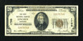National Bank Notes:Nebraska, Lincoln, NE - $20 1929 Ty. 1 The First NB Ch. # 1798. ...
