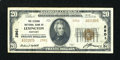 National Bank Notes:Kentucky, Lexington, KY - $20 1929 Ty. 2 The Second NB Ch. # 2901. ...
