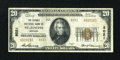 National Bank Notes:Missouri, Saint Joseph, MO - $20 1929 Ty. 2 The Burnes NB Ch. # 8021. ...