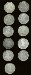 Mexico, Mexico: Mixed lot of Bust 8 Reales as follows:... (Total: 11 coins)