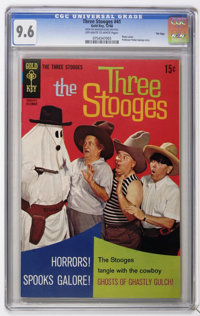 Three Stooges #41 - File Copy (Gold Key, 1968) CGC NM+ 9.6 Off-white to white pages