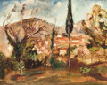 Fine Art - Painting, European:Modern  (1900 1949)  , OTHON FRIESZ (French, 1879-1949). Paysage, circa 1924. Oil on canvas. 25-1/2 x 31-1/2 inches (64.8 x 80.0 cm). Signed lo...