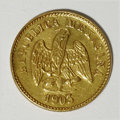 Mexico, Mexico: Republic gold Peso 1903Mo-M,...