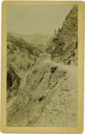 Western Expansion:Goldrush, Imperial Size Photograph of Ouray and Silverton's Stage Route ca1880s. ...