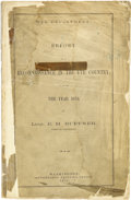 Western Expansion:Indian Artifacts, Report of a Reconnaissance in the Ute Country, 1873....