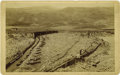 Western Expansion:Goldrush, Imperial Size Photograph Ground Sluicing Colorado, ca1880s-1890s....