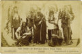 Western Expansion:Cowboy, Cabinet Card Photograph of Buffalo Bill's Wild West, London,England, ca. late 1880s....
