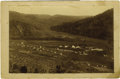 Western Expansion:Indian Artifacts, Imperial Size Photograph of Mescalero Indian Agency New MexicoTerritory 1893....